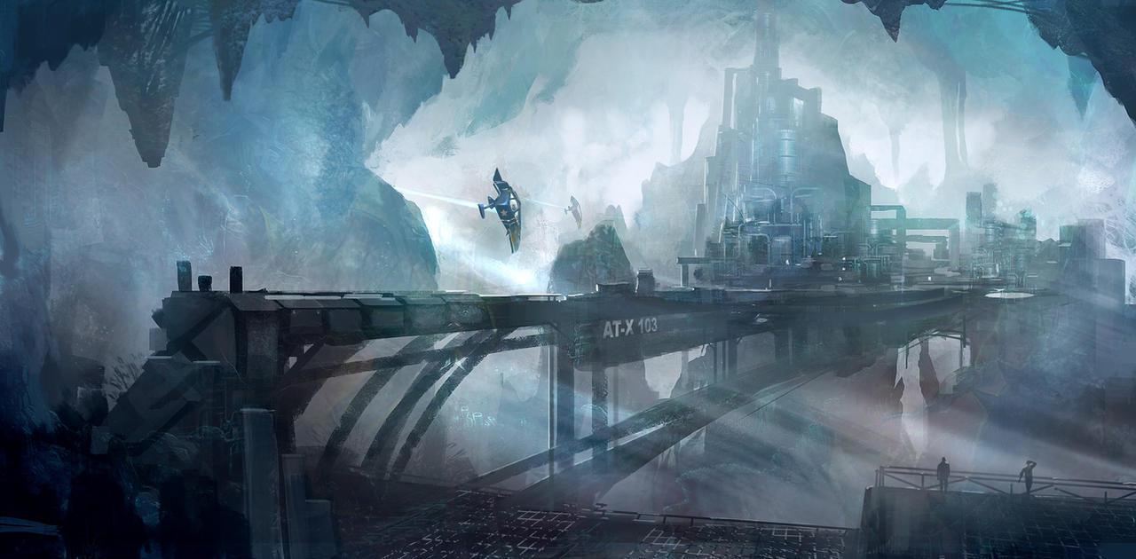 Underground City by nkabuto