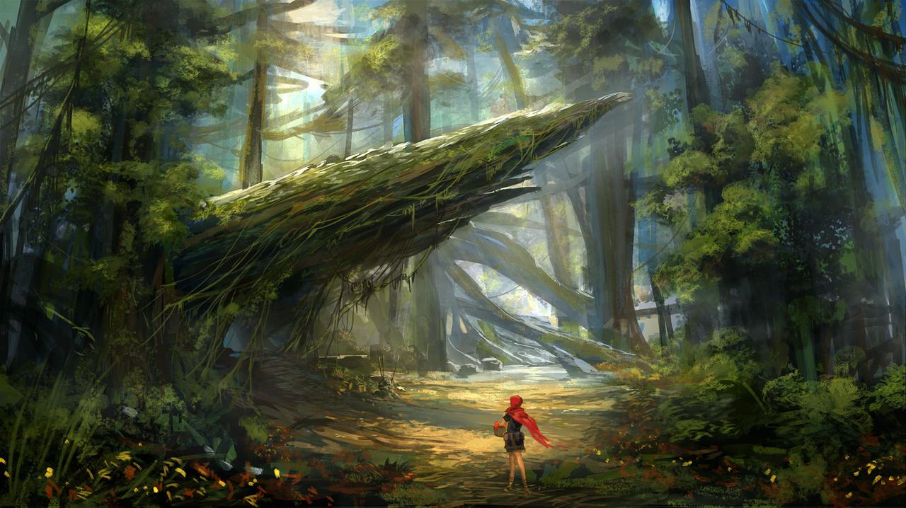 Little red riding hood by nkabuto