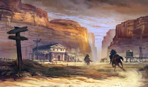 Running cowboys by nkabuto