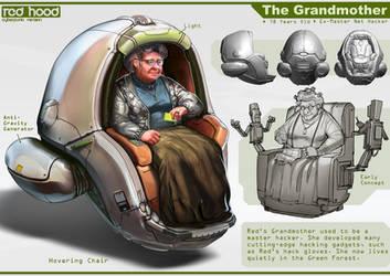 Grandmother by nkabuto