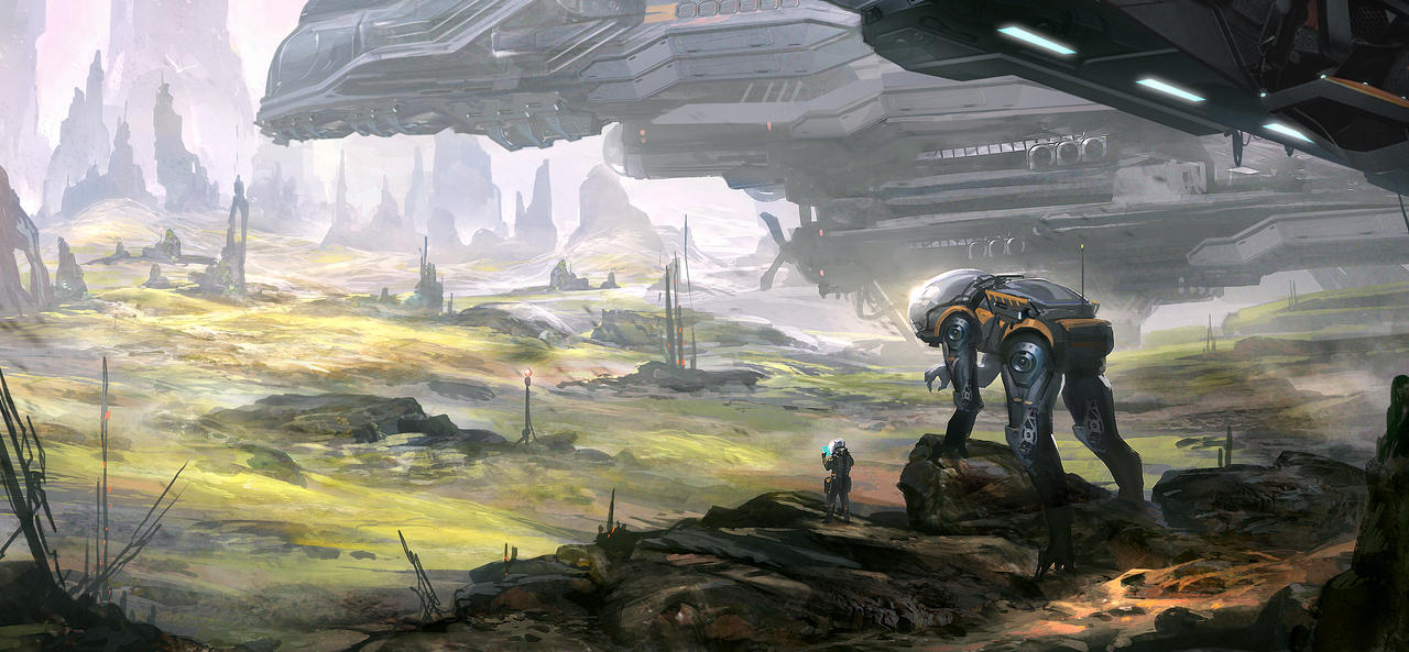 Alien Planet Explorers by nkabuto on DeviantArt