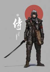 Street Samurai by nkabuto