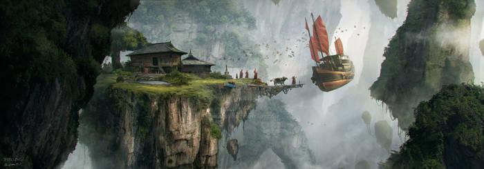 The flying monastery