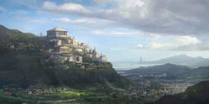 Ancient Athens by nkabuto