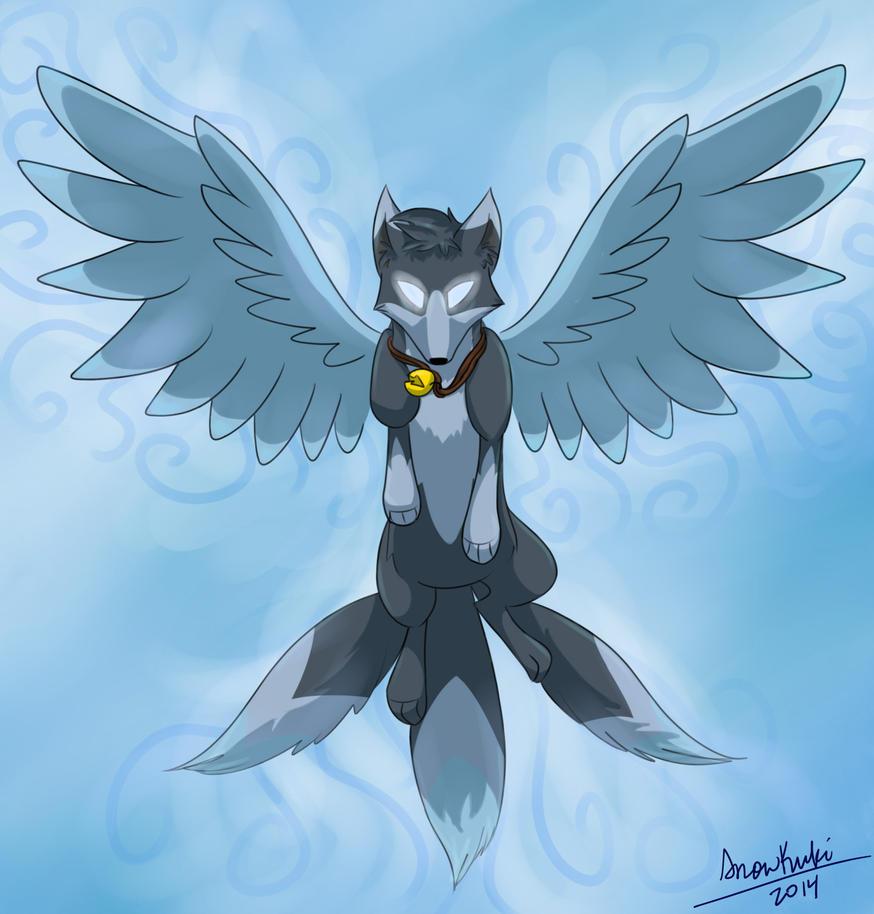 KrosFox - Willow's Wings by SnowKuki