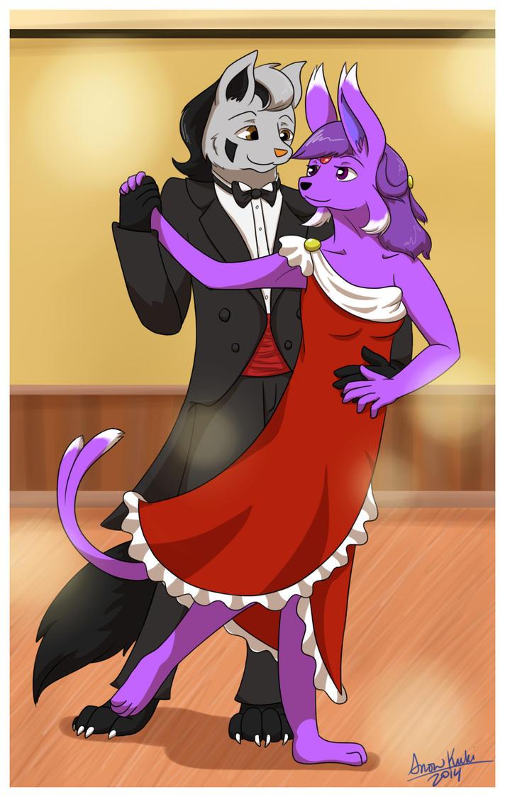 Comm - Let's Dance by SnowKuki