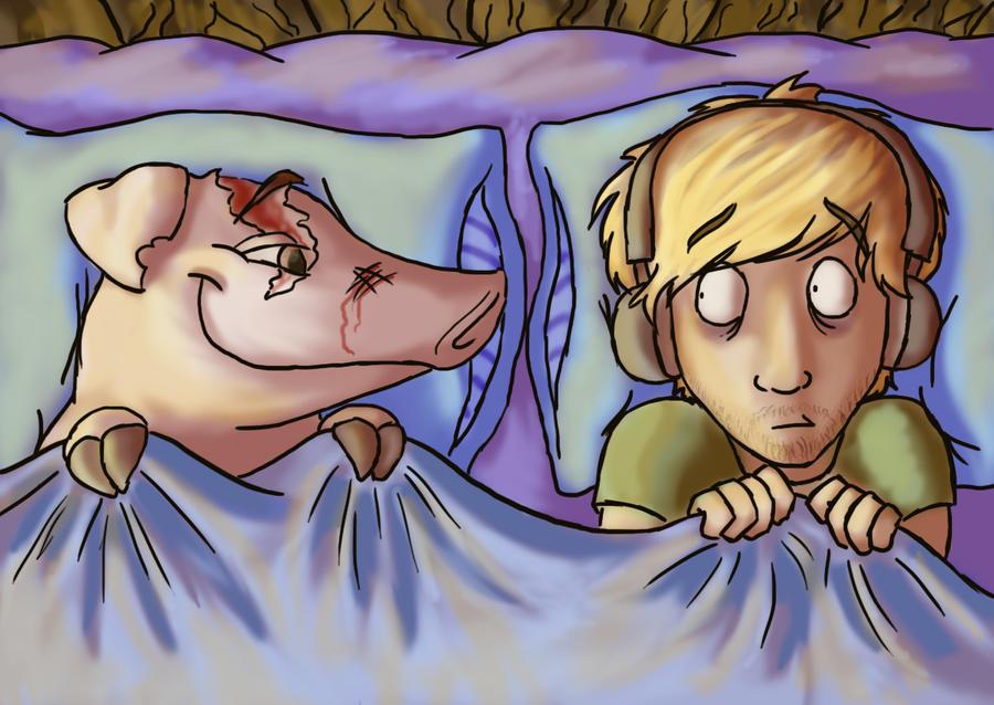 PewDiePie and Piggeh! by JJ-Magica on DeviantArt