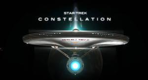 STAR TREK CONSTELLATION FILM POSTER
