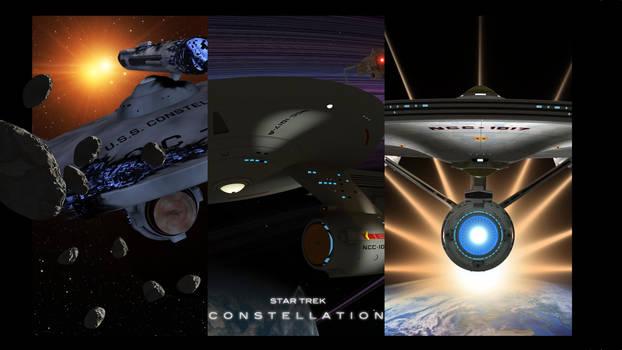 constellation montage Poster