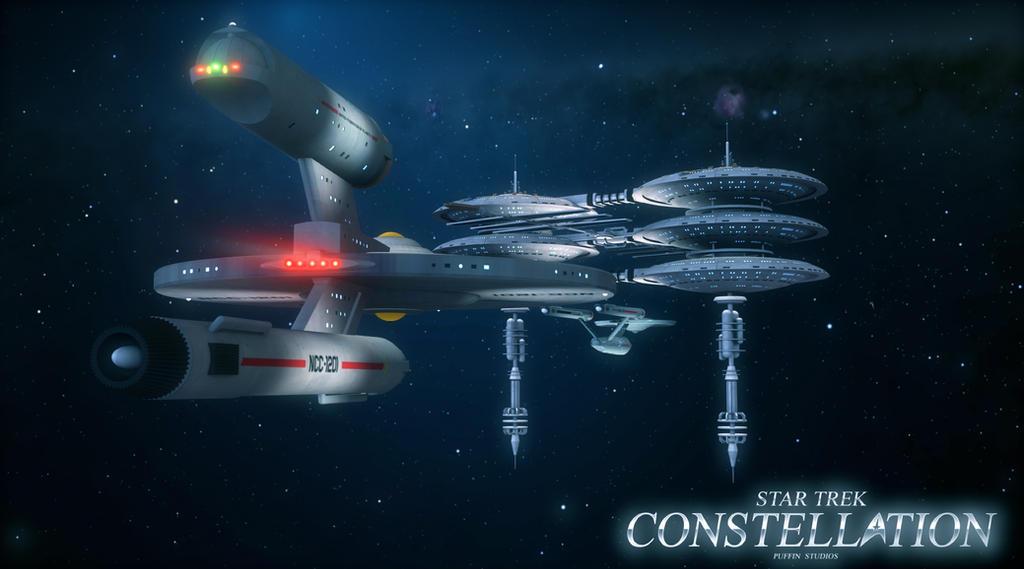 STAR TREK CONSTELLATION POSTER COMIC 5 by PUFFINSTUDIOS on DeviantArt