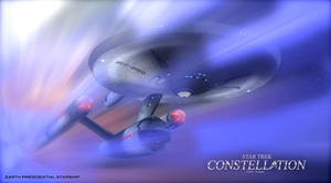 STAR TREK CONSTELLATION COMIC POSTER 5