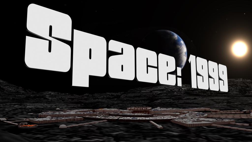 Space 1999 Title... by PUFFINSTUDIOS