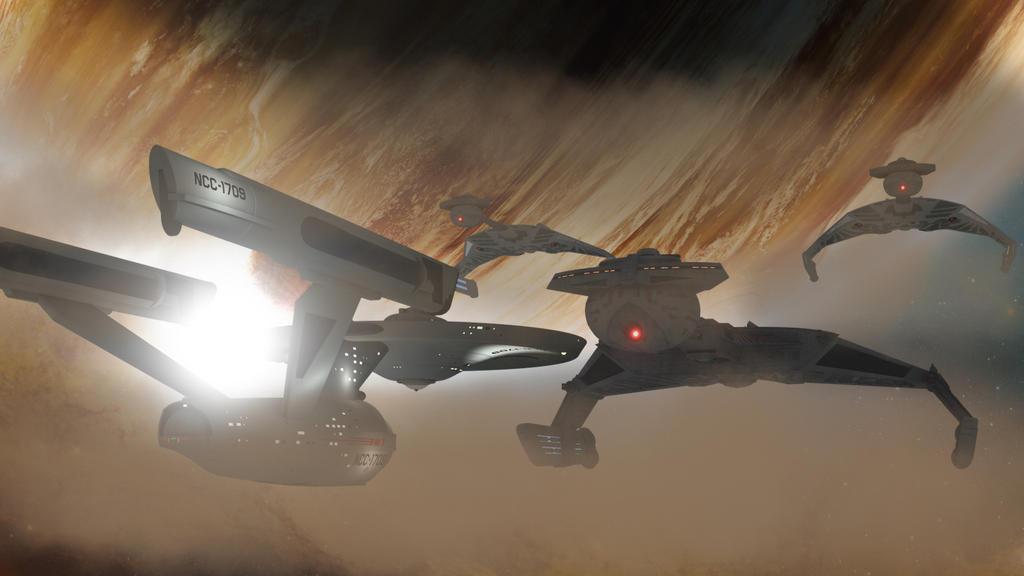 The Battleship...