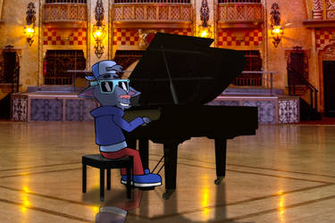 Playing On The Piano!! by PUFFINSTUDIOS