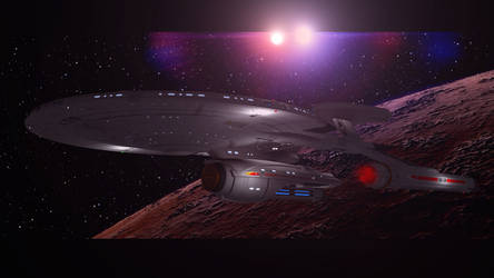 USS Messier NX 24 by PUFFINSTUDIOS