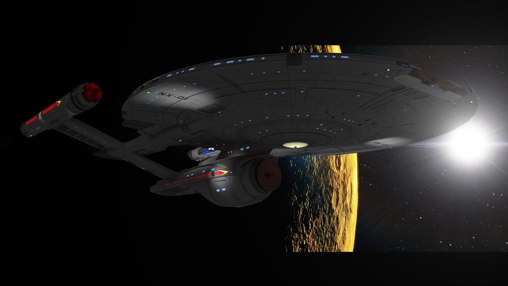 Nx 01 Enterprise Refit! by PUFFINSTUDIOS