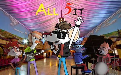 ALL 5it POSTER by PUFFINSTUDIOS
