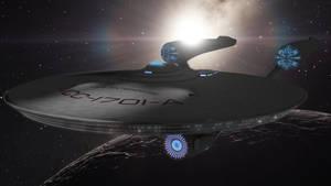 USS Enterprise NCC1701-A JJ