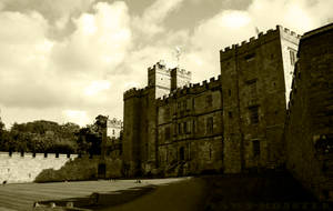 Chillingham Castle by Yawn-Monster