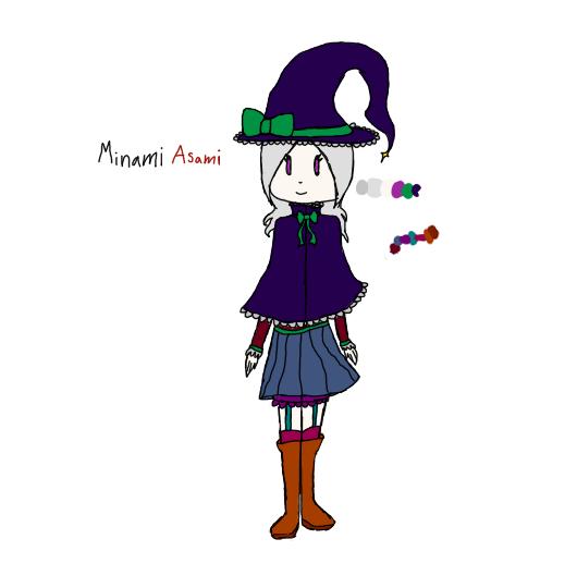 fandomless witch OC by kawasaki-san