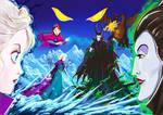 Age of Ice Elsa vs Maleficent