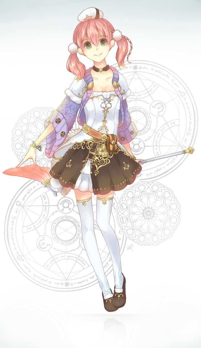Atelier : Escha by Kp-sama
