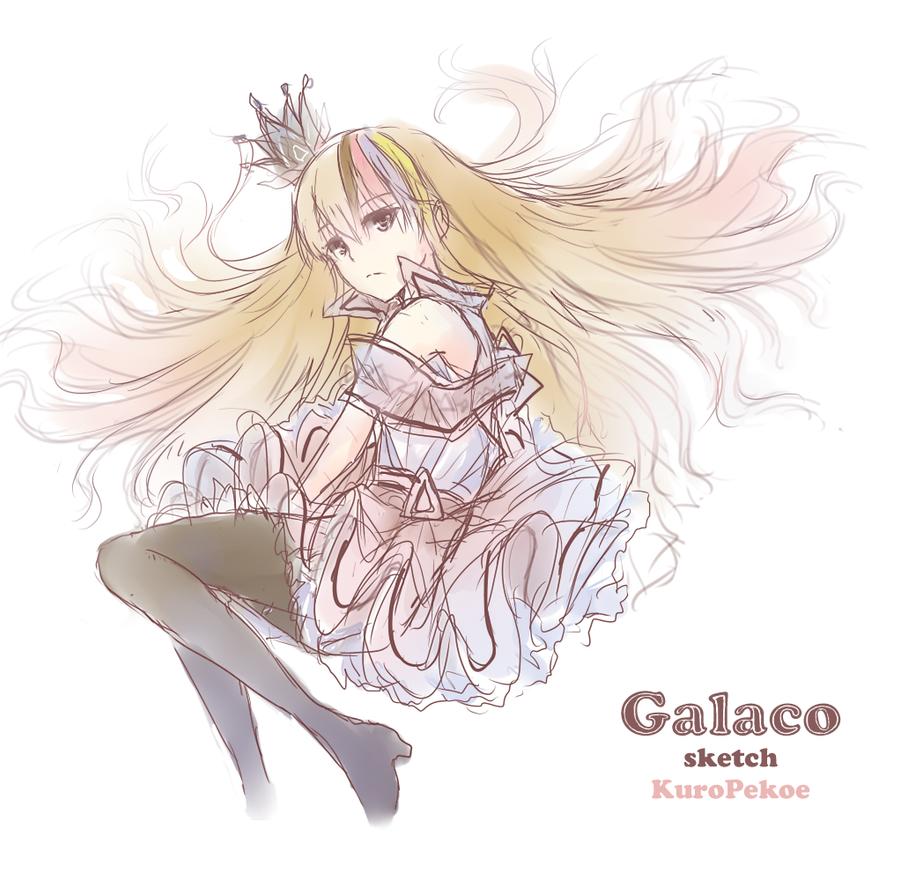 VOCALOID SKETCH : Galaco by Kp-sama