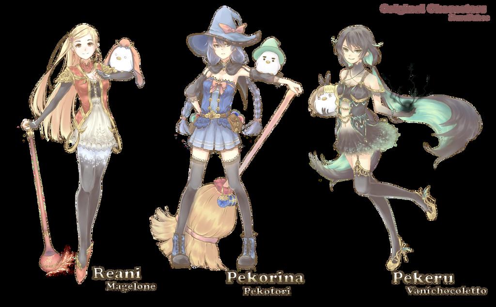 Original Characters Crew by Kp-sama