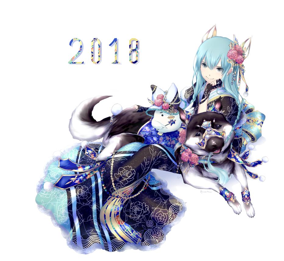 2 0 1 8 by Kp-sama