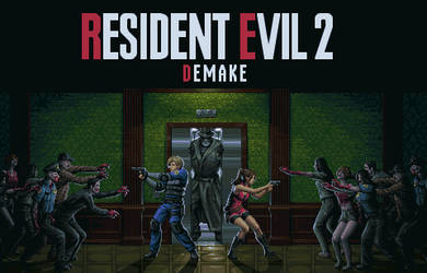 Resident Evil 2 Demake by Wolfenoctis