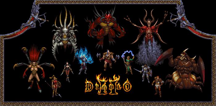 Diablo 2 Mockup