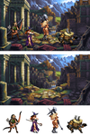 Dragon's Crown Mockup
