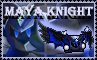 Maya knight stamp by Meta-Kaz