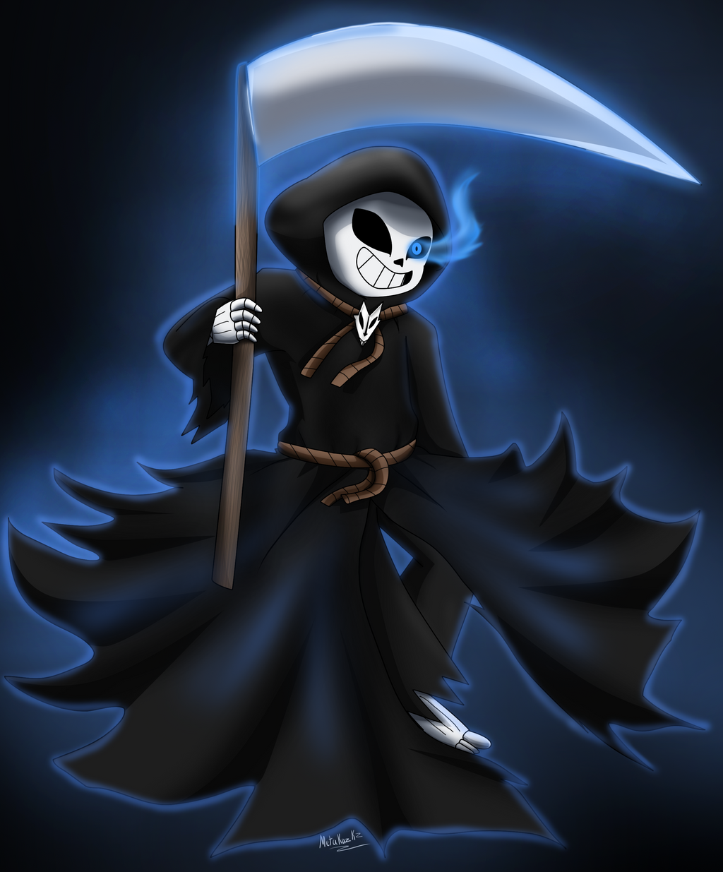 How To Draw The Grim Reaper Step by Step Drawing Guide