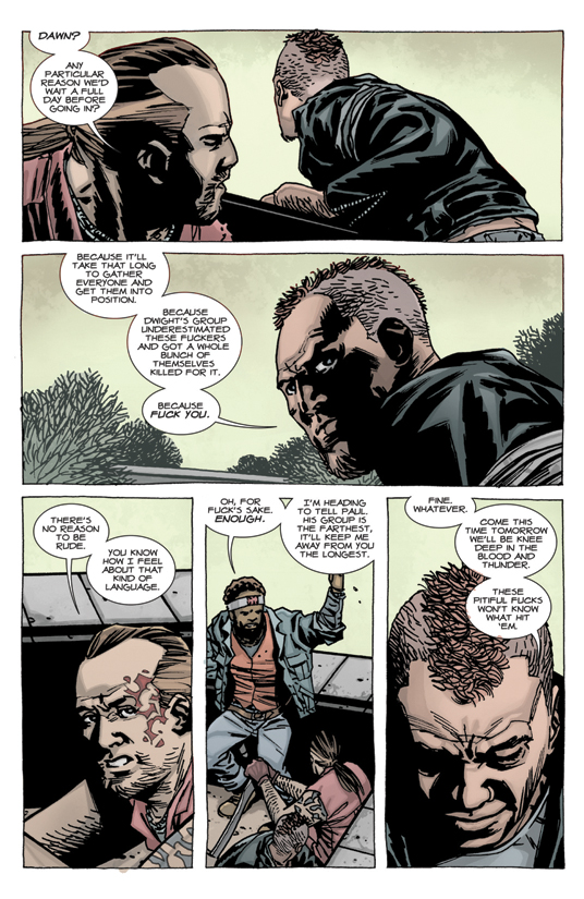 The Walking Dead #100 Page 1 by Pleurgh