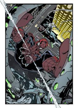 Cian Tormey Spider-Man vs Superior Doctor Octopus