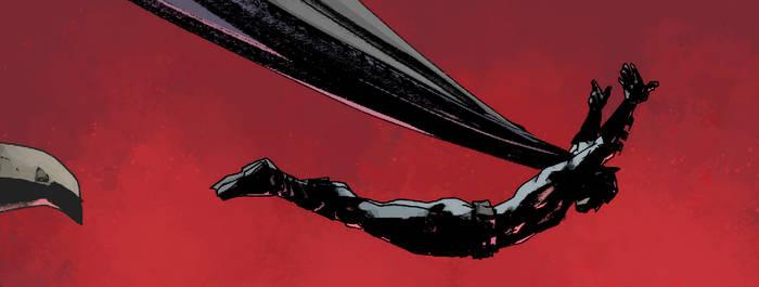 Batman panel by Jock