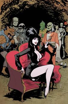 Elvira:Shape of Evil 2 cover Acosta Variant