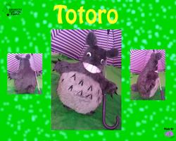 Totoro Plushie :FanArt: