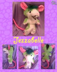 Jezzabelle Rat Plushie