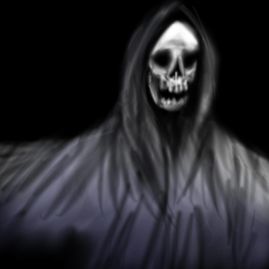 Drawlloween 1 - Ghost by GalanorBrighteye