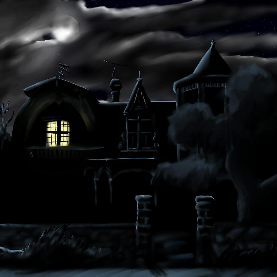 Drawlloween 7 - Haunted House by GalanorBrighteye