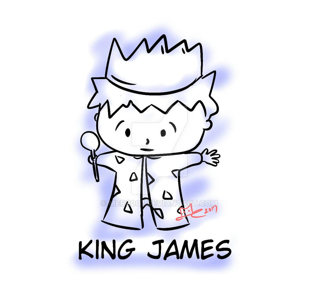 King James (an evening doodle) by Merc007