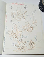 Doodle-Koi king live in Sepia by Merc007