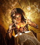 Voodoo Priestess