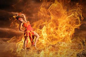 Fire Dance by michellemonique