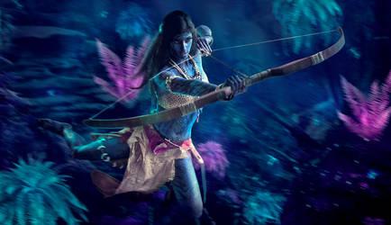 Na'vi Hunter by michellemonique