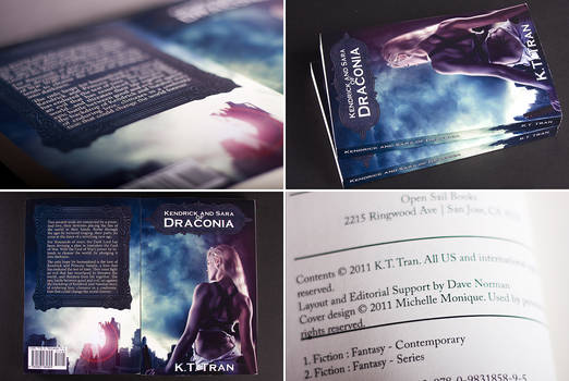 Kendrick and Sara of Draconia book cover