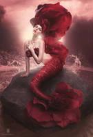 Rose Mermaid by michellemonique