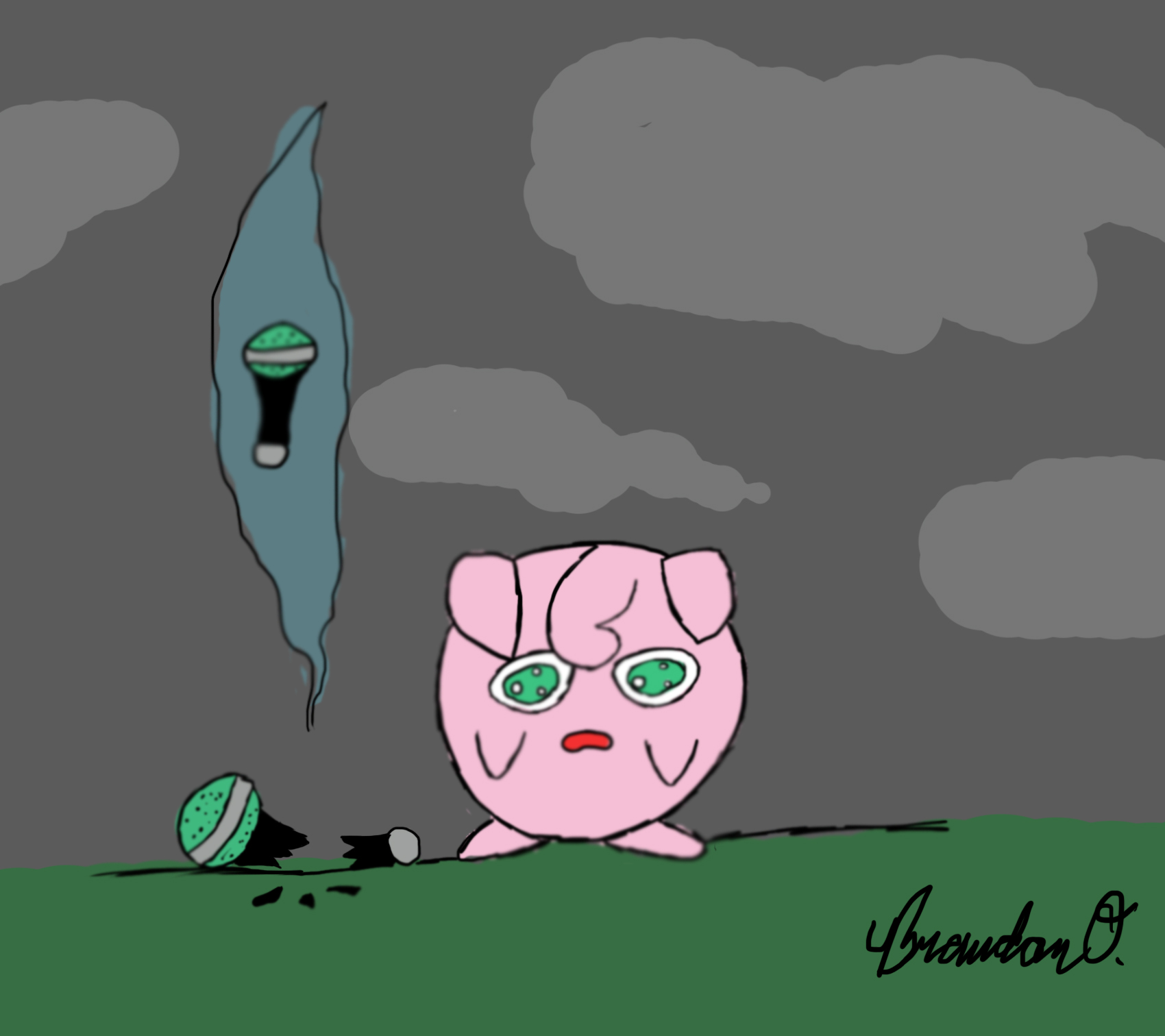 Sad Jigglypuff by Brandnman on - 331.5KB